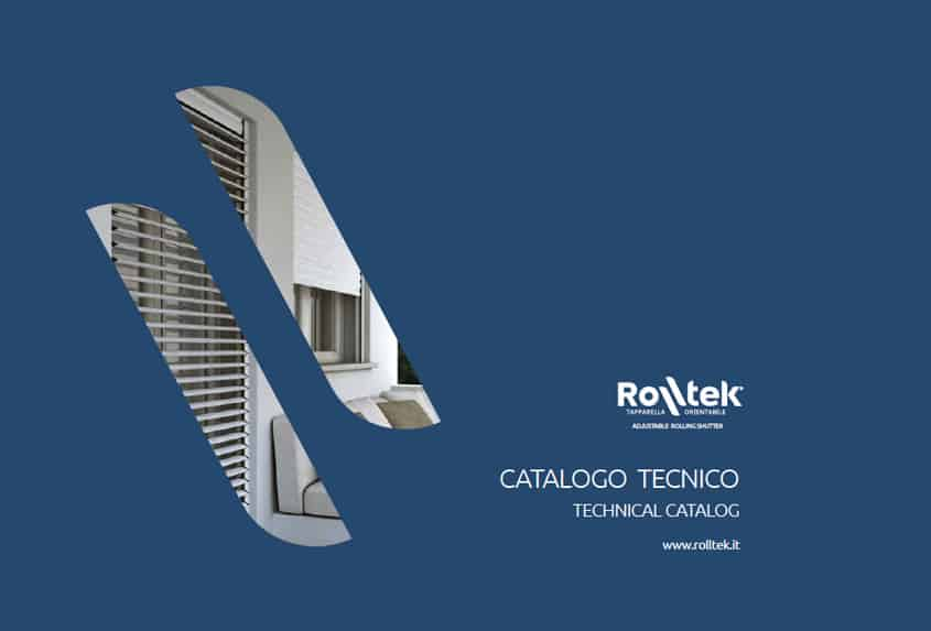 [:it]Nuovo Catalogo Tecnico per la tapparella Rolltek[:en]New Technical Catalogue for the rolling bling Rolltek[:]